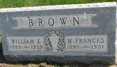 BROWN, M. FRANCES - Clay County, South Dakota | M. FRANCES BROWN - South Dakota Gravestone Photos