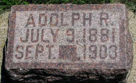 BRUNICK, ADOLPH R. - Clay County, South Dakota | ADOLPH R. BRUNICK - South Dakota Gravestone Photos