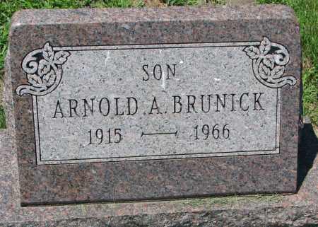 BRUNICK, ARNOLD A. - Clay County, South Dakota | ARNOLD A. BRUNICK - South Dakota Gravestone Photos
