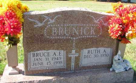 BRUNICK, RUTH A. - Clay County, South Dakota   RUTH A. BRUNICK - South Dakota Gravestone Photos