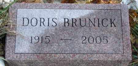 BRUNICK, DORIS - Clay County, South Dakota   DORIS BRUNICK - South Dakota Gravestone Photos