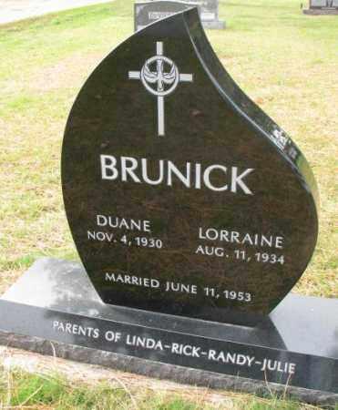BRUNICK, DUANE - Clay County, South Dakota | DUANE BRUNICK - South Dakota Gravestone Photos