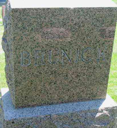 BRUNICK, FAMILY STONE - Clay County, South Dakota | FAMILY STONE BRUNICK - South Dakota Gravestone Photos