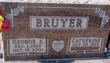 BRUYER, CATHERINE - Clay County, South Dakota | CATHERINE BRUYER - South Dakota Gravestone Photos
