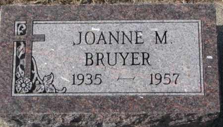 BRUYER, JOANNE M. - Clay County, South Dakota | JOANNE M. BRUYER - South Dakota Gravestone Photos