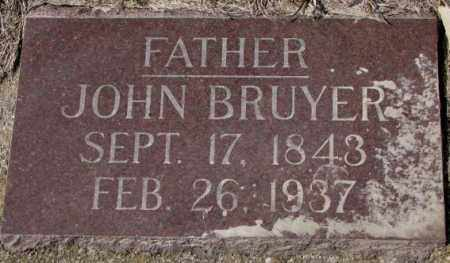 BRUYER, JOHN - Clay County, South Dakota   JOHN BRUYER - South Dakota Gravestone Photos
