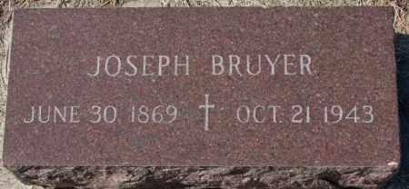 BRUYER, JOSEPH - Clay County, South Dakota | JOSEPH BRUYER - South Dakota Gravestone Photos
