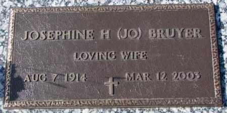 BRUYER, JOSEPHINE H. - Clay County, South Dakota | JOSEPHINE H. BRUYER - South Dakota Gravestone Photos