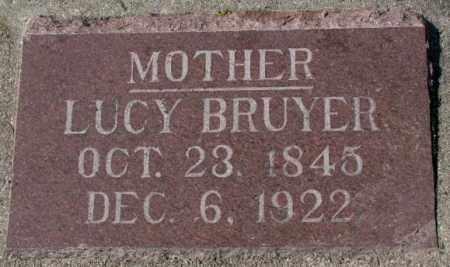 BRUYER, LUCY - Clay County, South Dakota   LUCY BRUYER - South Dakota Gravestone Photos