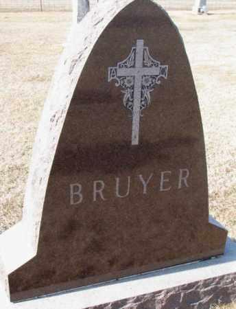 BRUYER, PLOT - Clay County, South Dakota | PLOT BRUYER - South Dakota Gravestone Photos