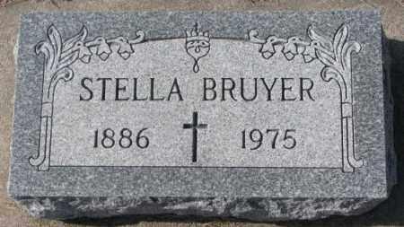 BRUYER, STELLA - Clay County, South Dakota   STELLA BRUYER - South Dakota Gravestone Photos