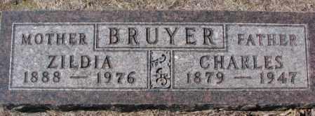 BRUYER, CHARLES - Clay County, South Dakota | CHARLES BRUYER - South Dakota Gravestone Photos