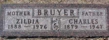 BRUYER, ZILDIA - Clay County, South Dakota | ZILDIA BRUYER - South Dakota Gravestone Photos