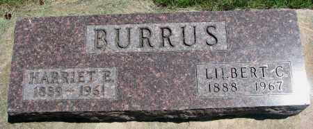 BURRUS, LILBERT C. - Clay County, South Dakota | LILBERT C. BURRUS - South Dakota Gravestone Photos