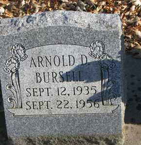 BURSELL, ARNOLD D. - Clay County, South Dakota | ARNOLD D. BURSELL - South Dakota Gravestone Photos