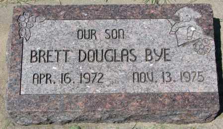 BYE, BRETT DOUGLAS - Clay County, South Dakota | BRETT DOUGLAS BYE - South Dakota Gravestone Photos