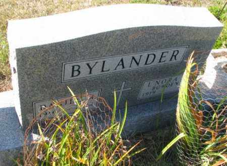 BOWDEN BYLANDER, L'NORA L. - Clay County, South Dakota | L'NORA L. BOWDEN BYLANDER - South Dakota Gravestone Photos