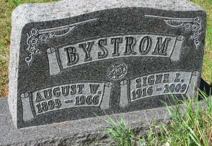 BYSTROM, SIGNE L. - Clay County, South Dakota | SIGNE L. BYSTROM - South Dakota Gravestone Photos