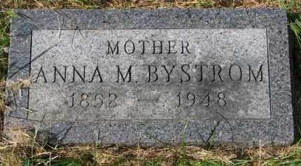 BYSTROM, ANNA M. - Clay County, South Dakota | ANNA M. BYSTROM - South Dakota Gravestone Photos