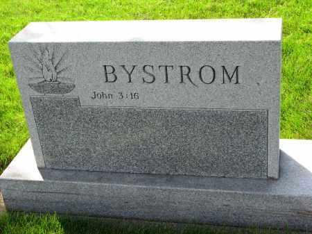 BYSTROM, FAMILY STONE - Clay County, South Dakota   FAMILY STONE BYSTROM - South Dakota Gravestone Photos