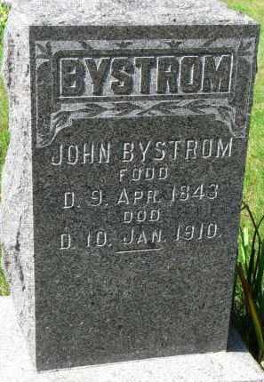 BYSTROM, JOHN - Clay County, South Dakota | JOHN BYSTROM - South Dakota Gravestone Photos