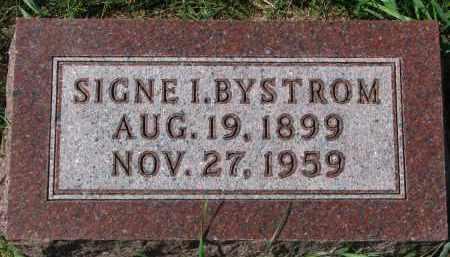 BYSTROM, SIGNE I. - Clay County, South Dakota | SIGNE I. BYSTROM - South Dakota Gravestone Photos