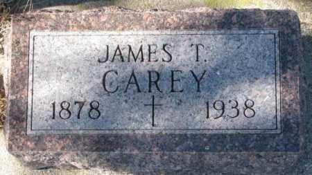 CAREY, JAMES T. - Clay County, South Dakota | JAMES T. CAREY - South Dakota Gravestone Photos