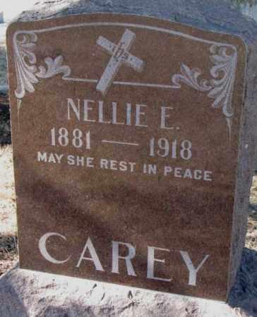 CAREY, NELLIE E. - Clay County, South Dakota | NELLIE E. CAREY - South Dakota Gravestone Photos