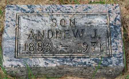 CARLSON, ANDREW J. - Clay County, South Dakota | ANDREW J. CARLSON - South Dakota Gravestone Photos
