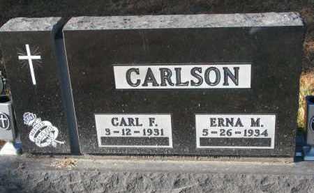 CARLSON, ERNA M. - Clay County, South Dakota | ERNA M. CARLSON - South Dakota Gravestone Photos
