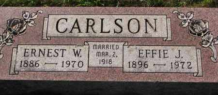 CARLSON, ERNEST W. - Clay County, South Dakota | ERNEST W. CARLSON - South Dakota Gravestone Photos