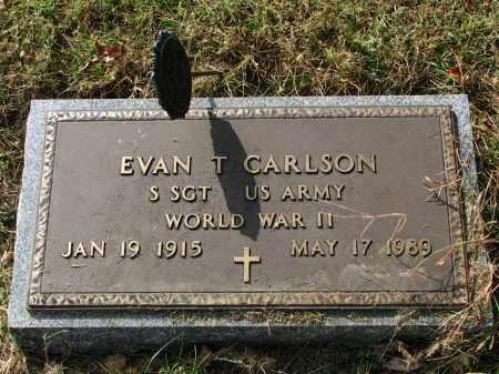 CARLSON, EVAN T. (WW II) - Clay County, South Dakota | EVAN T. (WW II) CARLSON - South Dakota Gravestone Photos