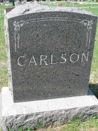 CARLSON, FAMILY STONE - Clay County, South Dakota   FAMILY STONE CARLSON - South Dakota Gravestone Photos