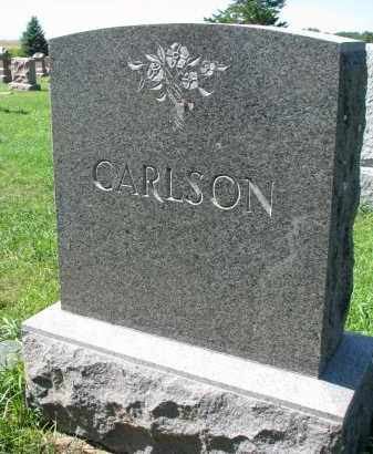 CARLSON, FAMILY STONE - Clay County, South Dakota | FAMILY STONE CARLSON - South Dakota Gravestone Photos