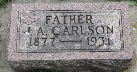 CARLSON, J.A. - Clay County, South Dakota   J.A. CARLSON - South Dakota Gravestone Photos