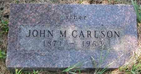 CARLSON, JOHN M. - Clay County, South Dakota   JOHN M. CARLSON - South Dakota Gravestone Photos