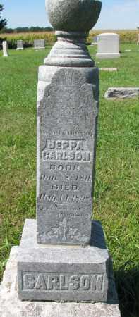 CARLSON, JEPPA - Clay County, South Dakota | JEPPA CARLSON - South Dakota Gravestone Photos