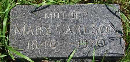 CARLSON, MARY - Clay County, South Dakota | MARY CARLSON - South Dakota Gravestone Photos