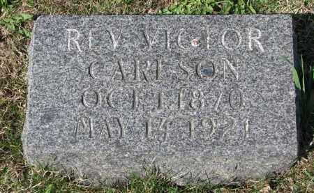 CARLSON, VICTOR (REV.) - Clay County, South Dakota | VICTOR (REV.) CARLSON - South Dakota Gravestone Photos