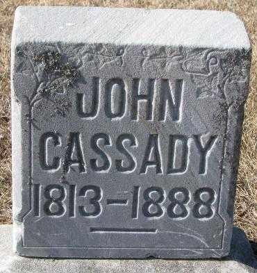 CASSADY, JOHN - Clay County, South Dakota | JOHN CASSADY - South Dakota Gravestone Photos