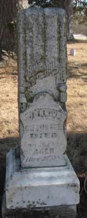CHAUSSEE, JOHN W. - Clay County, South Dakota | JOHN W. CHAUSSEE - South Dakota Gravestone Photos