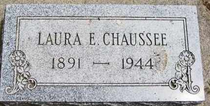 CHAUSSEE, LAURA ELIZABETH - Clay County, South Dakota | LAURA ELIZABETH CHAUSSEE - South Dakota Gravestone Photos