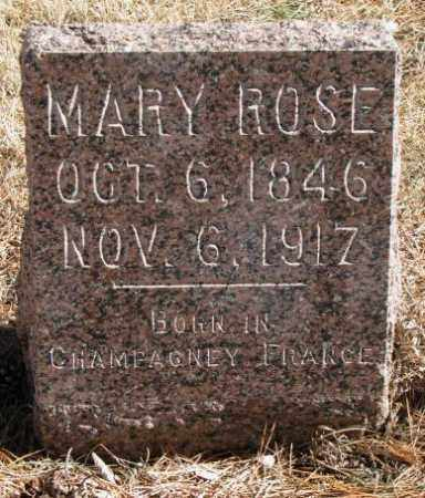 CHAUSSEE, MARY ROSE - Clay County, South Dakota   MARY ROSE CHAUSSEE - South Dakota Gravestone Photos