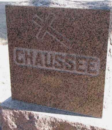 CHAUSSEE, PLOT - Clay County, South Dakota | PLOT CHAUSSEE - South Dakota Gravestone Photos