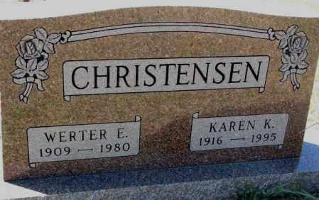 CHRISTENSEN, KAREN K. - Clay County, South Dakota | KAREN K. CHRISTENSEN - South Dakota Gravestone Photos