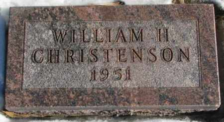 CHRISTENSON, WILLIAM H. - Clay County, South Dakota   WILLIAM H. CHRISTENSON - South Dakota Gravestone Photos