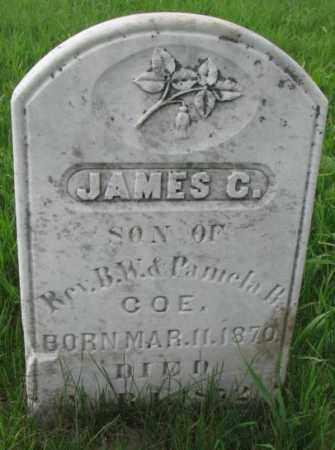 COE, JAMES C. - Clay County, South Dakota   JAMES C. COE - South Dakota Gravestone Photos