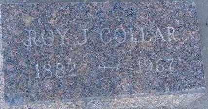COLLAR, ROY J. - Clay County, South Dakota   ROY J. COLLAR - South Dakota Gravestone Photos