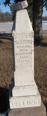 COLLINS, COURNELIOUS - Clay County, South Dakota   COURNELIOUS COLLINS - South Dakota Gravestone Photos