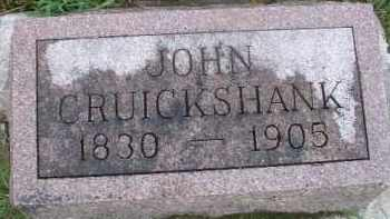CRUICKSHANK, JOHN - Clay County, South Dakota | JOHN CRUICKSHANK - South Dakota Gravestone Photos